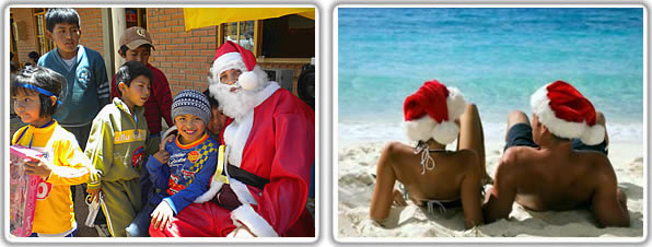 Christmas In Latin America.One Language Different Ways Of Celebrating Christmas In