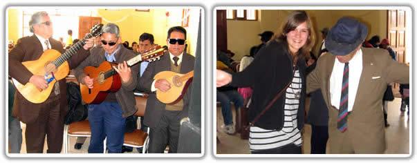 Volunteers celebrate 12 years anniversary at volunteer project in Cusco Peru